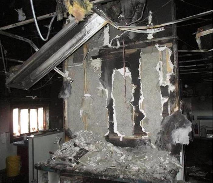 Commercial Fire Damage – Aberdeen Restaurant Before