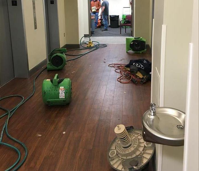 Cleaning Up After Commercial Water Loss