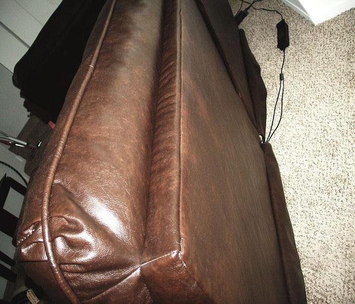 Soot Damage Couch