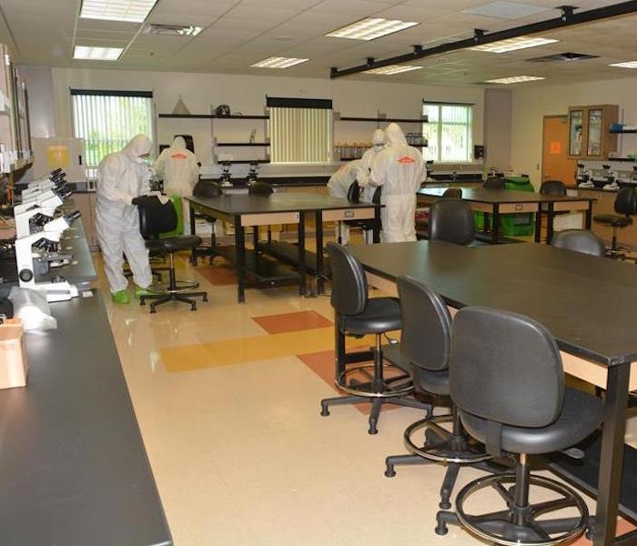 Commercial Mold Remediation – Aberdeen Lab